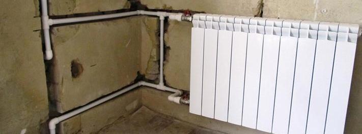 Прокладка полипропиленовых труб в стене