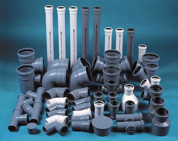 Виды соединений пластиковых труб